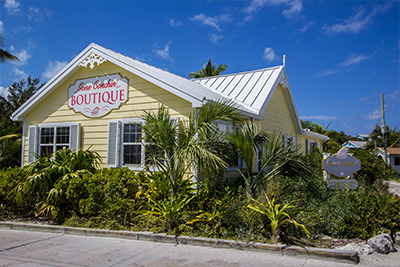 Gone Conchin' gift store on Guana Cay