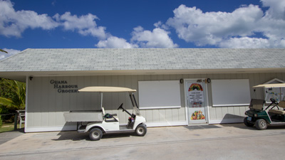 The Grocery store on Guana Cay