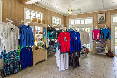 The Giftshop in the Marina office of Orchid Bay on Guana Cay